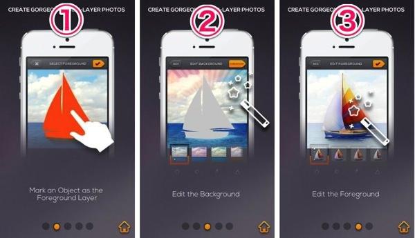IPhoneアプリ layrs のご紹介2