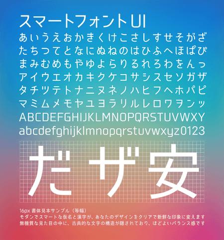 02 スマートフォントUI