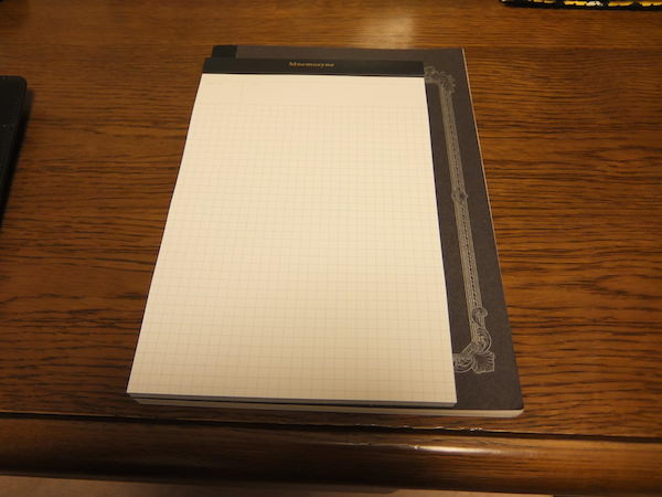 Mnemosyne ニーモシネ のA5版ノートパッドの紹介 7