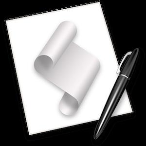 Apple Script Editor icon