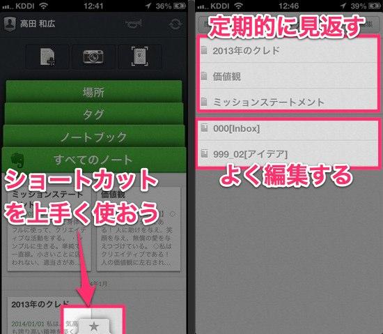 IPhone版Evernote純正アプリを使いこなす技 3