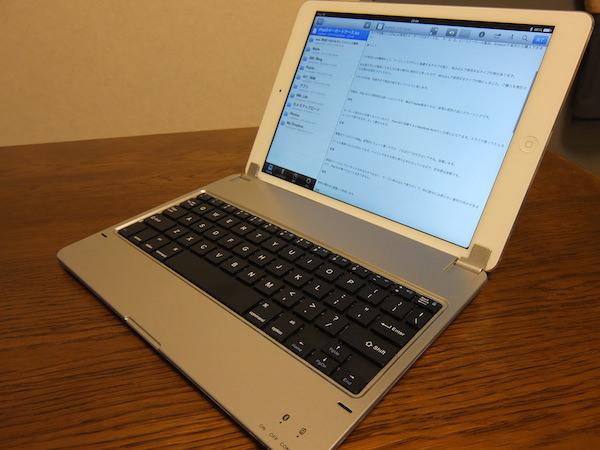 IPad Airで使えるコスパ最強のキーボード付きケースが超オススメ 5
