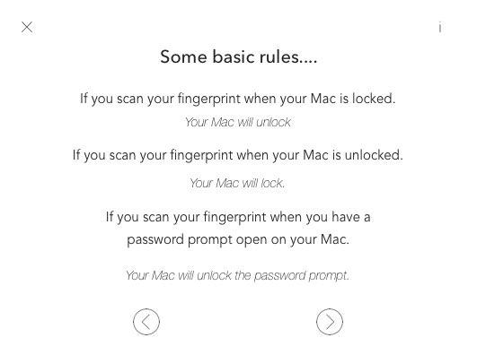 Macのパスワード入力やロックをiPhoneのTouch ID 指紋認証 で解除できるアプリ KeyTouch 3
