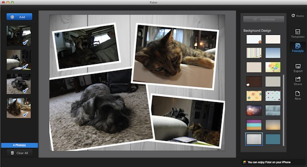 Macの画像アプリFotorの使い方9
