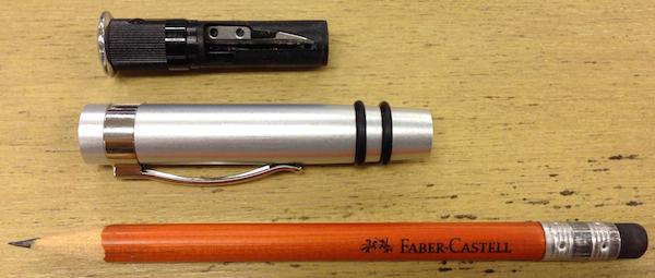 書く 消す 削るの3役を完璧にこなす鉛筆 パーフェクトペンシル 5