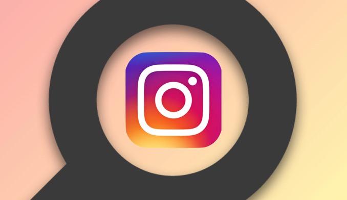 Instagram search technic