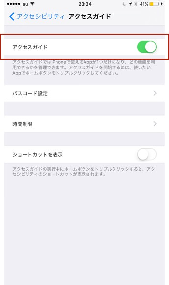 Iphone access guide 2