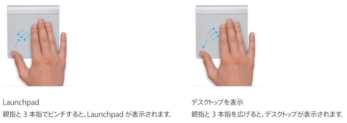 Touchpad gesture8