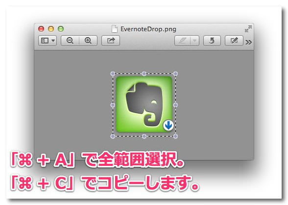 フォルダアクション Evernote自動転送保存 9