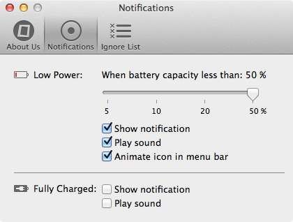 Mac WinからiPhoneの電池残量を確認できるアプリ iBetterCharge 6
