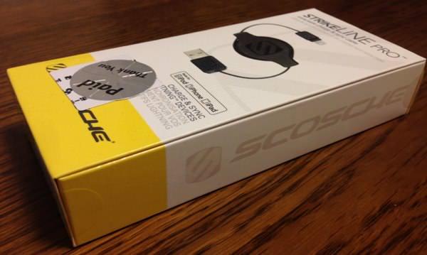 Apple認証の巻取り式Lightningケーブルが激安で買えるのはドンキだった 01