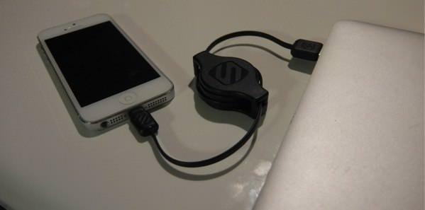 Apple認証の巻取り式Lightningケーブルが激安で買えるのはドンキだった 03