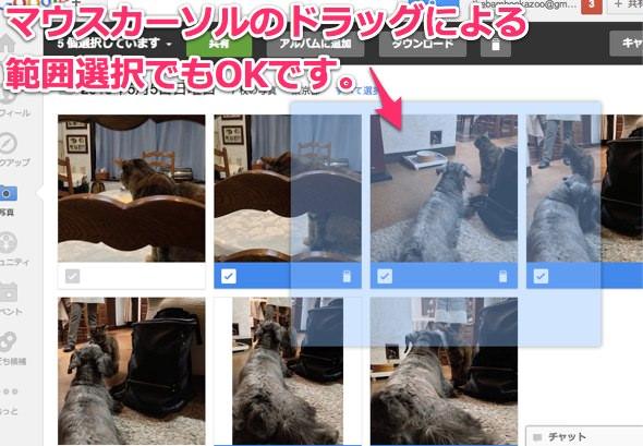 Picasa Google+ のインスタントアップロード整理方法 2