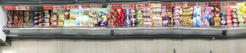 スーパーやコンビニの長い陳列棚を一枚の写真に撮る方法_3