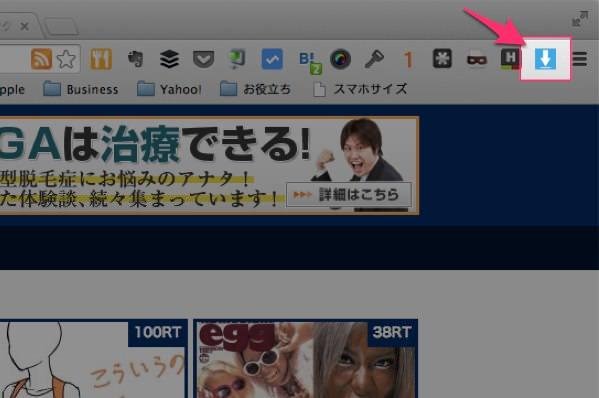 ウェブページ上にある画像を一括保存できる便利Chrome拡張 Image Downloader 03