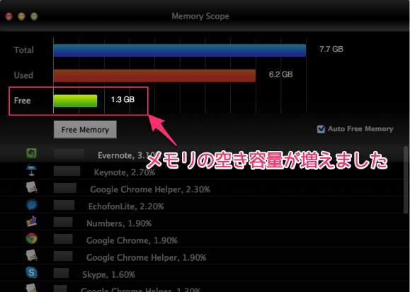 Macでメモリを大量消費するFinderは定期的に再起動しよう 3