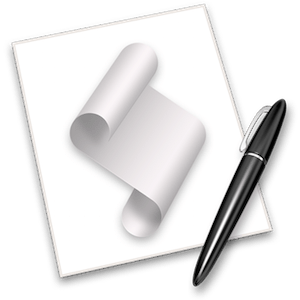 Apple Script Editor icon