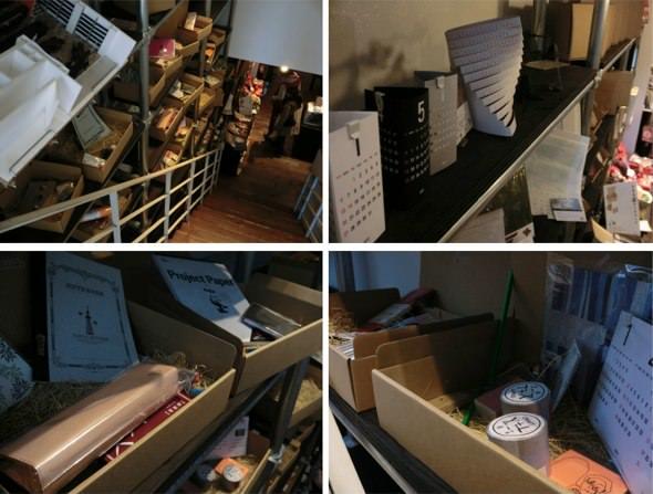 文房具カフェ 階段
