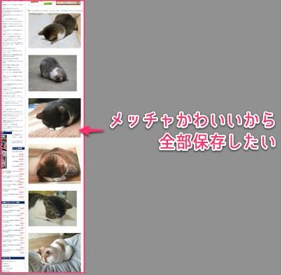 ウェブページ上にある画像を一括保存できる便利Chrome拡張 Image Downloader 02