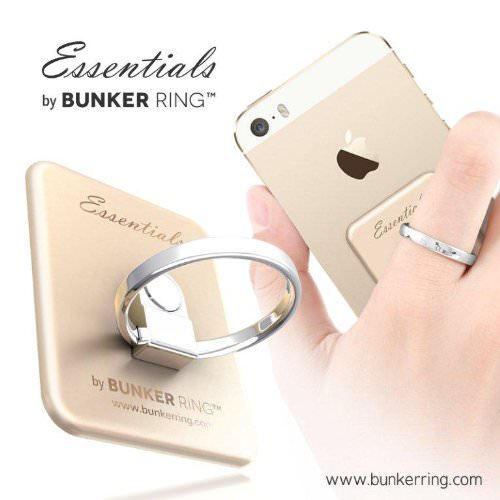 IPhone 6 Plusの操作性UPが確実なリング型アイテム Bunker Ring 01