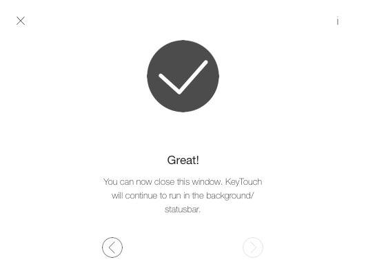 Macのパスワード入力やロックをiPhoneのTouch ID 指紋認証 で解除できるアプリ KeyTouch 6