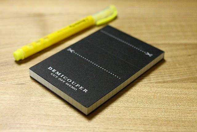 小型でいつでも取り出せるメモ帳