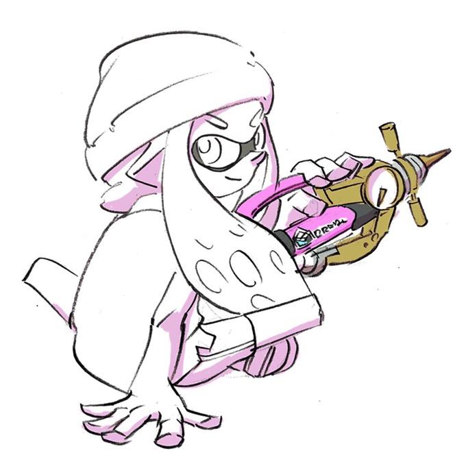 Splatoon illust 1