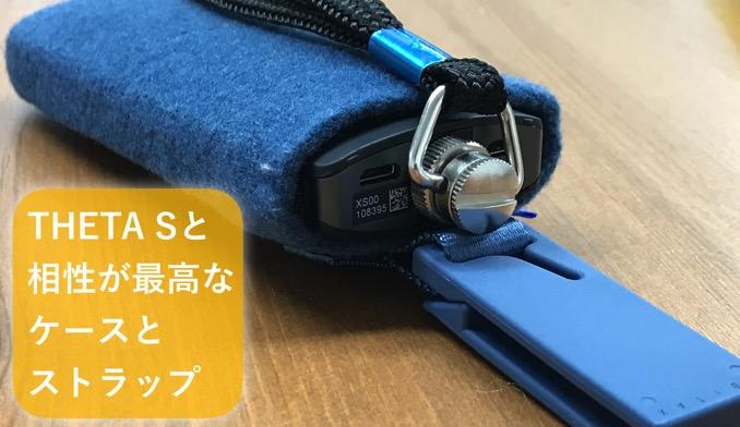 Theta case strap