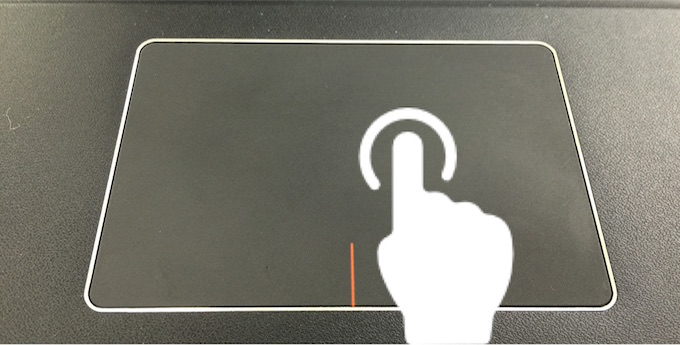 Touchpad gesture 4